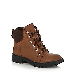 Call It Spring - Brown 'Gerrish' lace up boots