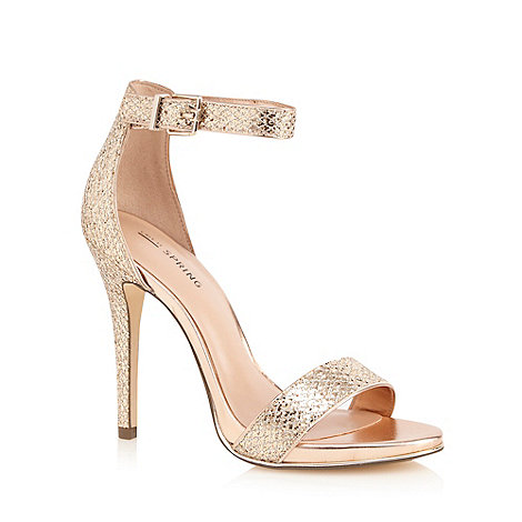 Call It Spring - Gold +Sheren+ high sandals