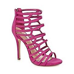 Call It Spring - Dark pink 'Astausien' high stiletto heel gladiator sandals