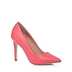 Call It Spring - Peach 'Gwydda' high stiletto heel pointed shoes