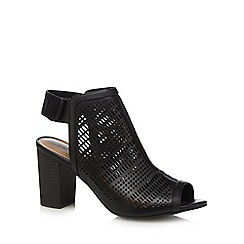 Call It Spring - Black 'Moanda' high block heel mules