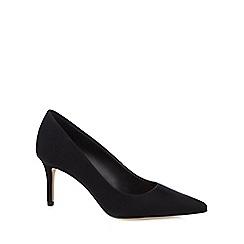 Call It Spring - Black 'Fririen' high heel court shoes
