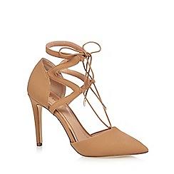 Call It Spring - Tan 'Legelari' high stiletto heel pointed shoes