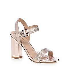 Call It Spring - Light pink 'Burgersdorp' high heel ankle strap sandals