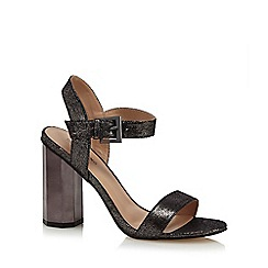 Call It Spring - Black 'Burgersdorp' high heel ankle strap sandals
