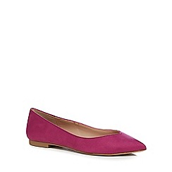 Call It Spring - Bright pink suedette 'Edeille' pumps