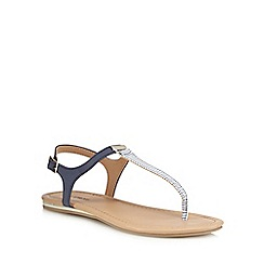 Call It Spring - Navy 'Blinder' T-bar sandals