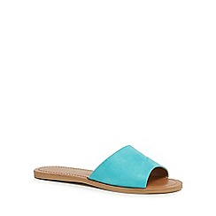 Call It Spring - Turquoise 'Thirenia' sliders