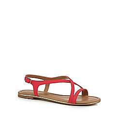 Call It Spring - Bright pink 'Fundaciona' slingback sandals