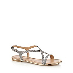 Call It Spring - Black 'Fundaciona' slingback sandals