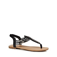 Call It Spring - Black 'Leiwen' sandals
