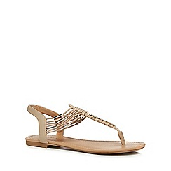 Call It Spring - Taupe 'Leiwen' sandals