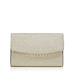 Call It Spring - Gold 'Pricia' daisy clutch bag