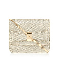 Call It Spring - Gold 'Calexico' small cross body bag
