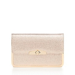 Call It Spring - Light pink glitter cross body bag