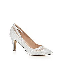 Call It Spring - Silver glitter 'Soraya' high heel pointed shoes