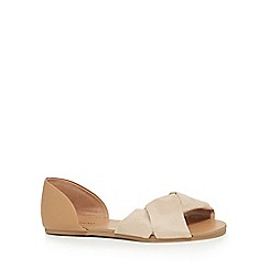 Call It Spring - Light pink suedette 'Haslem' sandals