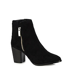 Faith - Black 'Bella' high ankle boots