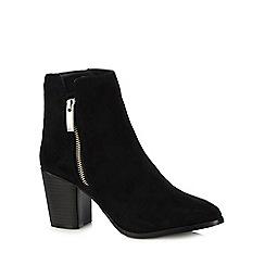 Faith - Black 'Bella' high ankle boots