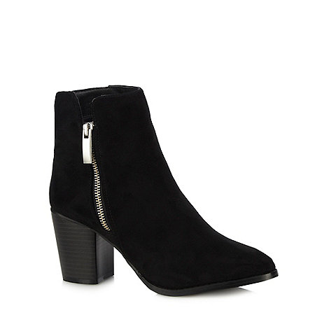 Faith - Black +Bella+ high ankle boots
