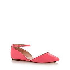 Faith - Pink 'Ali' pantent shoes
