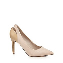 Faith - Natural 'Callie' high court shoes