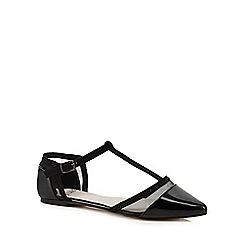 Faith - Black 'Arianna' T-bar shoes