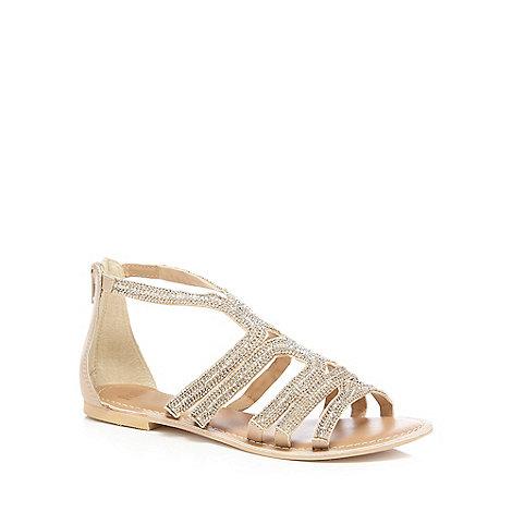 Faith - Silver +jiji+ flat sandals