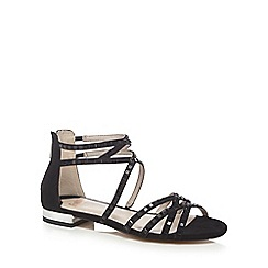Faith - Black 'Jessica' ankle strap sandals