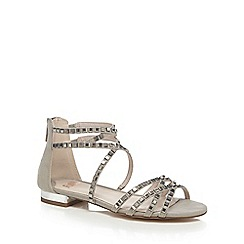 Faith - Grey 'Jessica' ankle strap sandals