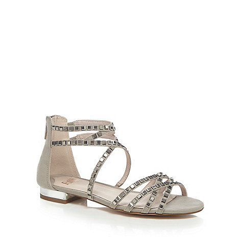 Faith - Grey +Jessica+ ankle strap sandals