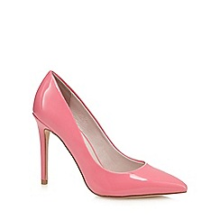 Faith - Pink patent 'Chloe' high stiletto heel pointed shoes
