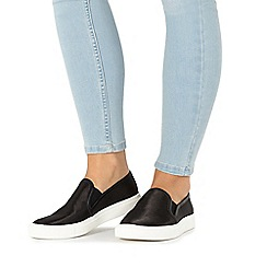 Faith - Black 'Karlie' slip-on shoes