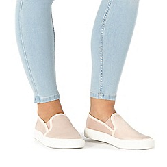 Faith - Light pink 'Karlie' slip-on trainers