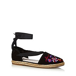 Faith - Black 'Aida' espadrilles