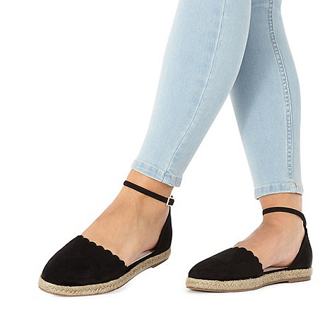 Faith - Black +Abe+ slip-on espadrilles