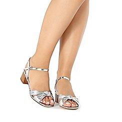 Faith - Silver 'Delight' sandals