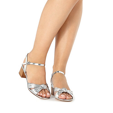 Faith - Silver +Delight+ sandals