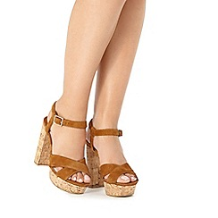 Faith - Tan 'Leela' high sandals