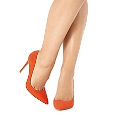 Faith - Orange 'Chloe' high court shoes