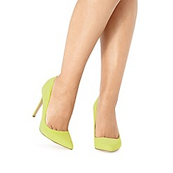 Faith - Lime 'Chloe' high court shoes