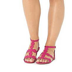Faith - Pink 'Jamison' circle sandals
