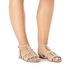 Faith - Natural 'Jamison' circle sandals