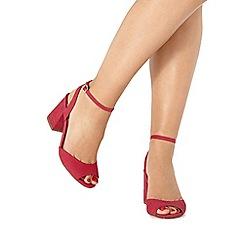 Faith - Pink 'Danica' mid sandals