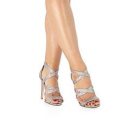 Faith - Silver 'Lennox' high sandals