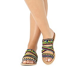 Faith - Multi-coloured 'Jada' sandals