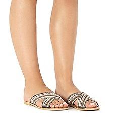 Faith - Grey 'Joey' sandals
