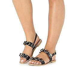 Faith - Black 'Jonas' sandals