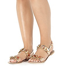 Faith - Brown 'Jonas' sandals
