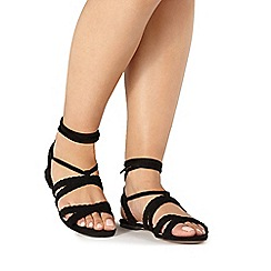 Faith - Black 'Jude' sandals